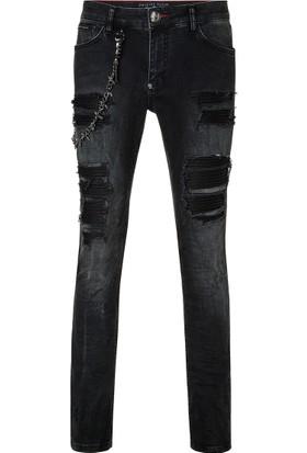 Philipp Plein Jeans Erkek Kot Pantolon P18C Mdt0920 Pde001N 02S2