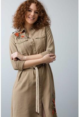 Us Polo Assn Dokuma Elbise | 50187119-Vr011