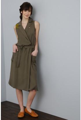 Us Polo Assn Dokuma Elbise | 50187904-Vr125