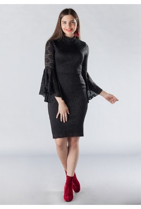 Femme Güpür İspanyol Elbise