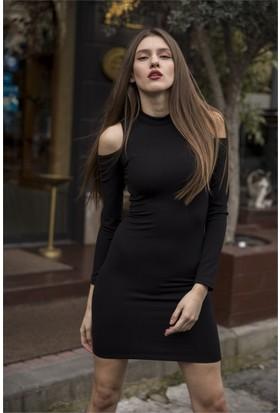 Femme Omzu Dekolte Elbise