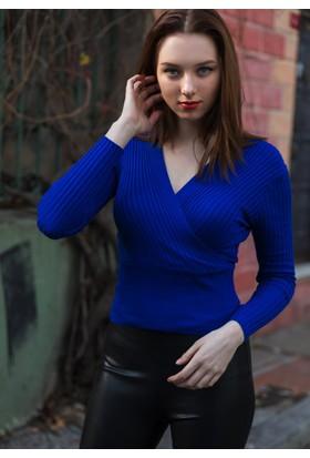 Femme Kruvaze Triko Bluz
