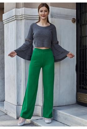 Femme Kolları İspanyol Bluz
