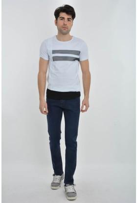 Rodin Hills Koyu Mavi Erkek Kot Pantolon 977