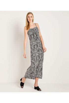 Home Store Elbise Siyah - Beyaz 46503