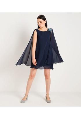 Home Store Elbise Lacivert 47936