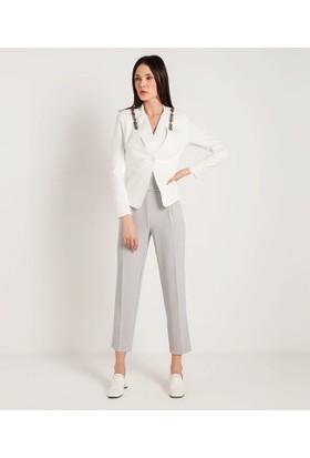 Home Store Ceket Beyaz 48014