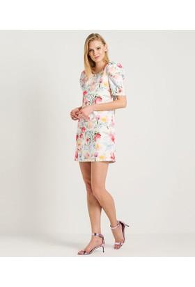 Home Store Elbise Beyaz 48125