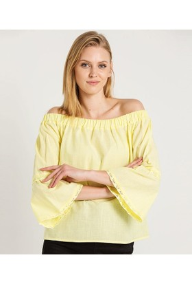 Home Store Bluz Sarı 48823