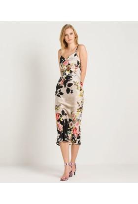 Home Store Elbise Bej 49157