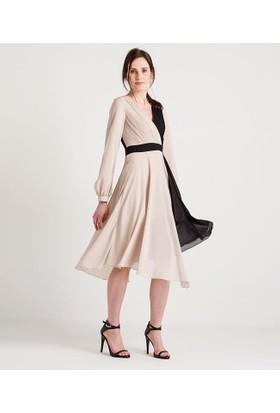 Home Store Elbise Bej 49168