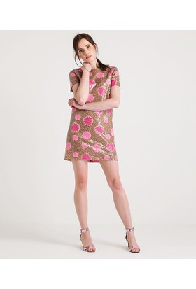 Home Store Elbise Bej 49178