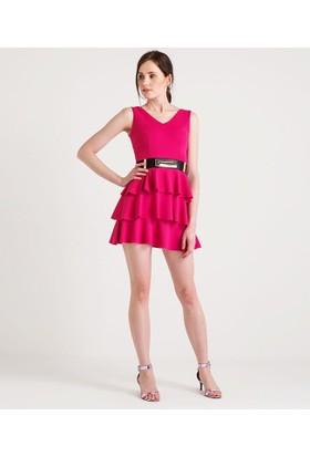 Home Store Elbise Fuşya 49216