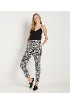 Home Store Pantolon Siyah - Beyaz 47906
