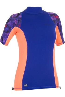 Superstorm Spf50+ T-Shirt 50 Faktör Uv Koruyucu Kadın Sörf Deniz Tişörtü