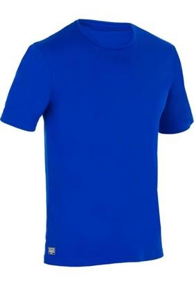 Superstorm Erkek T-Shirt Uv Koruyucu Sörf Deniz Tişörtü Mavi