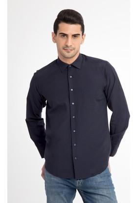 Kiğılı Uzun Kol Düz Klasik Gömlek