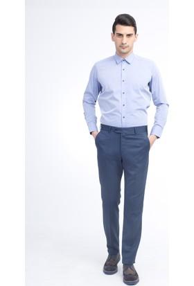 Kiğılı Klasik Desenli Pantolon