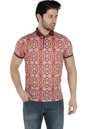 Brango 40159-4 Polo Yaka Pembe T-Shirt