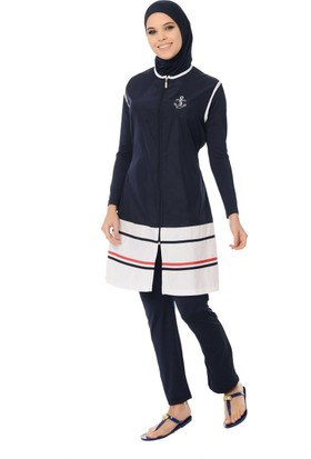 Alfasa 1274 Marin Üçlü Pantolonlu Takım