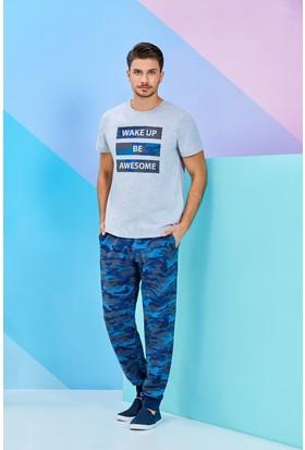 Roly Poly Kısa Kollu Erkek Pijama Takımı