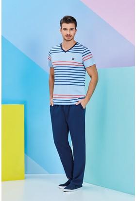 Roly Poly Erkek Tshirt-Şort ve Pijama Altı 3'lü Set