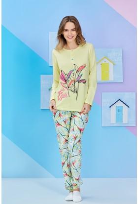 Roly Poly Uzun Kollu Kadın Pijama Takımı