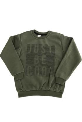 Akku 6085 Just Be Cool Kız Çocuk Sweatshirt