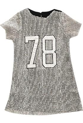 Cumino 1867 Pullu Kız Çocuk Elbise
