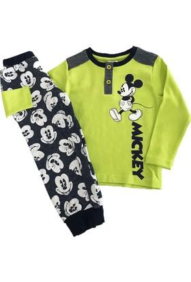 Çimpa 12344 Mickey Mouse Erkek Çocuk Pijama Takımı