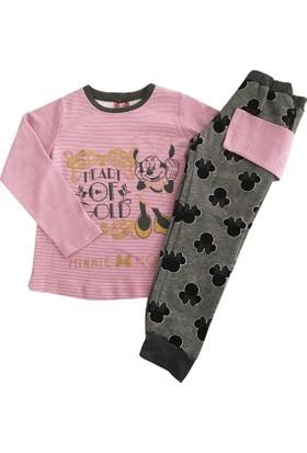 Çimpa 12361 Minnie Mouse Kız Çocuk Pijama Takımı