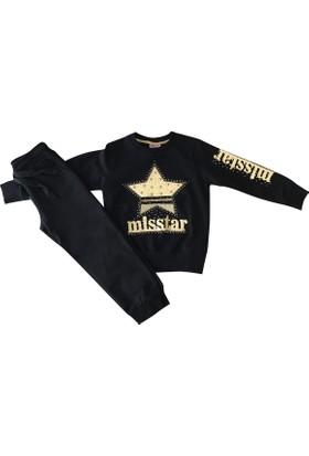 Plt 6288 Miss Star Kız Çocuk Eşofman Takımı