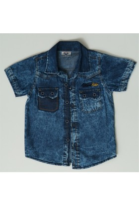 Reis 4328 Kot Gömlek Erkek Çocuk