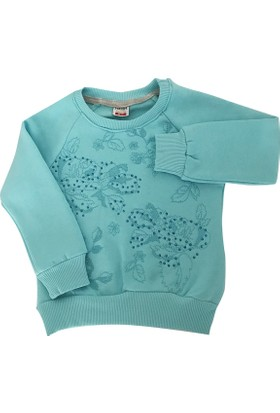 Starlet 2829 Taşlı Kız Çocuk Sweatshirt