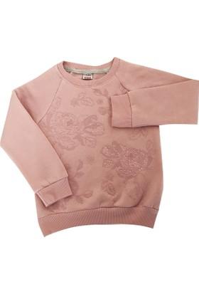 Starlet 3829 Taşlı Kız Çocuk Sweatshirt
