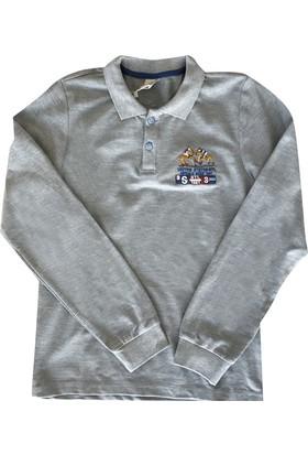 Starlet 4804 Polo Yaka Erkek Çocuk Sweatshirt