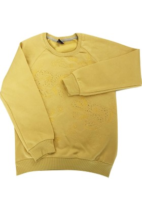 Starlet 4829 Taşlı Kız Çocuk Sweatshirt