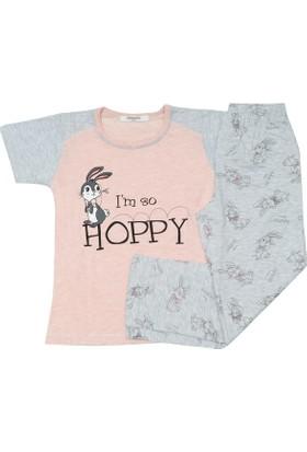 Rolly Polly 1055 Hoppyly Pijama Takımı Kız Çocuk