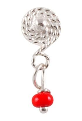 Akyüz Gümüş Yöresel Telkari Kırmızı Gümüş Hızma Hz048