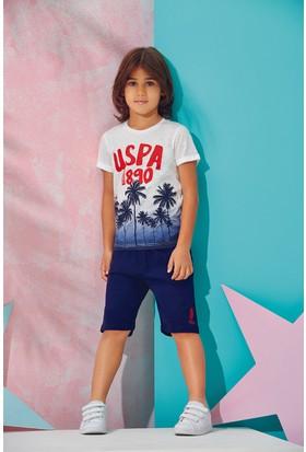 U.S. Polo Assn. Lisanslı Erkek Çocuk Bermuda Takım