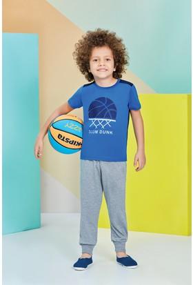 Roly Poly Kısa Kollu Erkek Çocuk Pijama Takımı