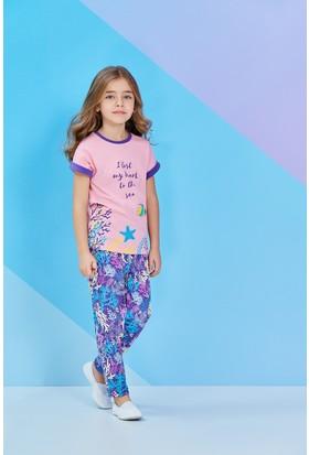 Roly Poly Kısa Kollu Kız Çocuk Pijama Takımı