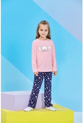 Roly Poly Uzun Kollu Kız Çocuk Pijama Takımı