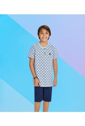 Roly Poly Erkek Garson Bermuda Pijama Takımı