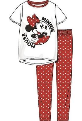 Roly Poly Minnie Mouse Kız Garson Pijama Takımı