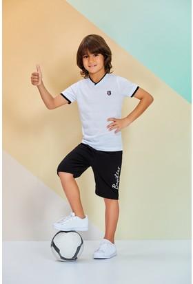 Roly Poly Beşiktaş Erkek Çocuk Bermuda Takım