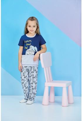 Roly Poly Bugs Bunny Kız Çocuk Pijama Takımı