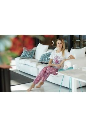Pierre Cardin Kadın Battal Pijama Takımı