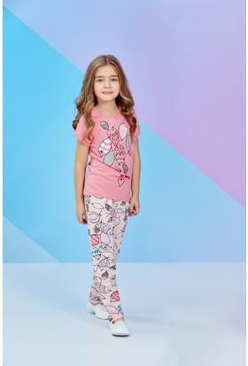Rolypoly Kısa Kollu Kız Çocuk Pijama Takımı