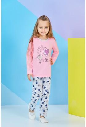 Rolypoly Uzun Kollu Kız Çocuk Pijama Takımı